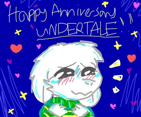Happy Anniversary to Undertale!