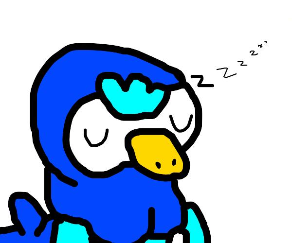 Sleeping Pokemon/pinguin