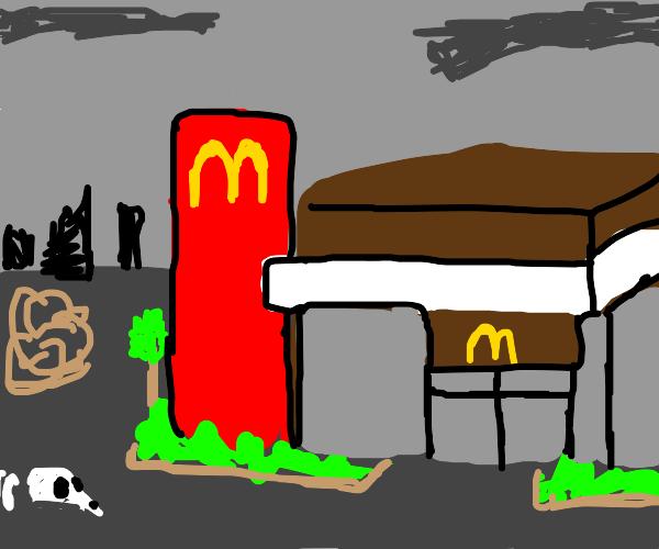 maccas in a dead town