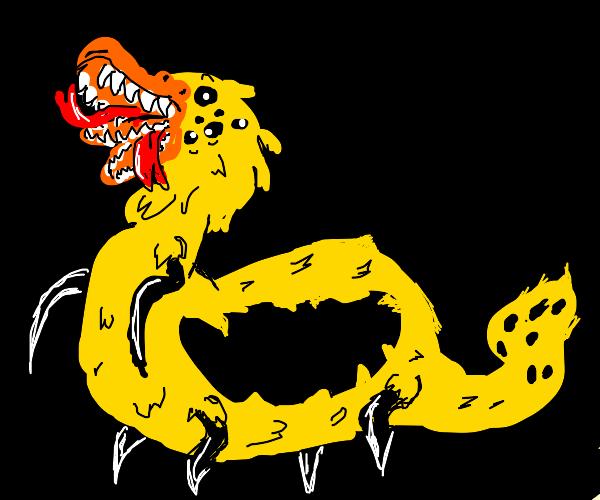 mutated drawception duck