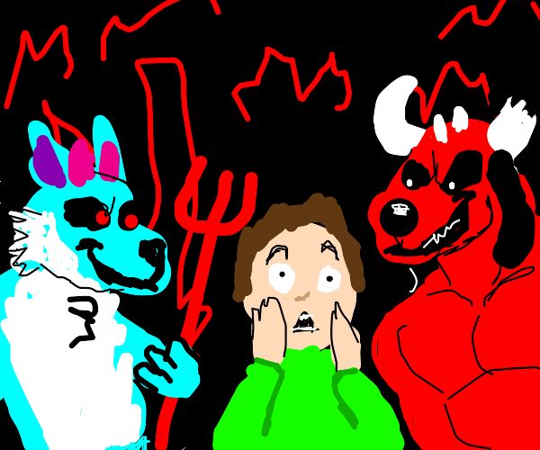 AHH I'M IN FURRY HELL!