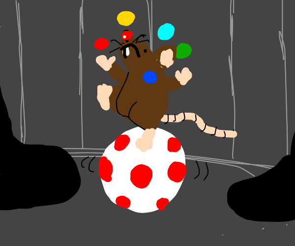 Lil' circus mouse