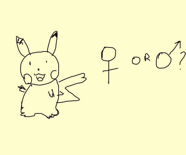 Female or Male Pikachu?