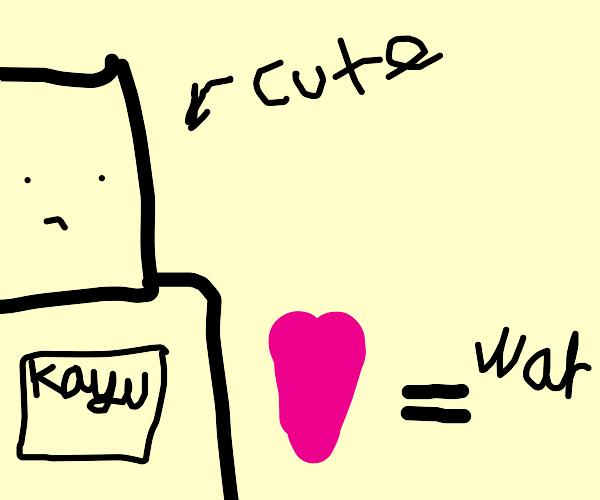 """Kaguya Shinomiya """"How Cute."""" (Love is War)"""