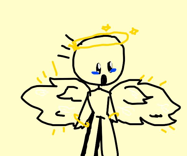 Man FINALLY got his wings