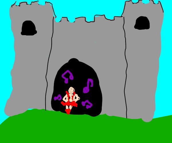 Dancer in a Castle