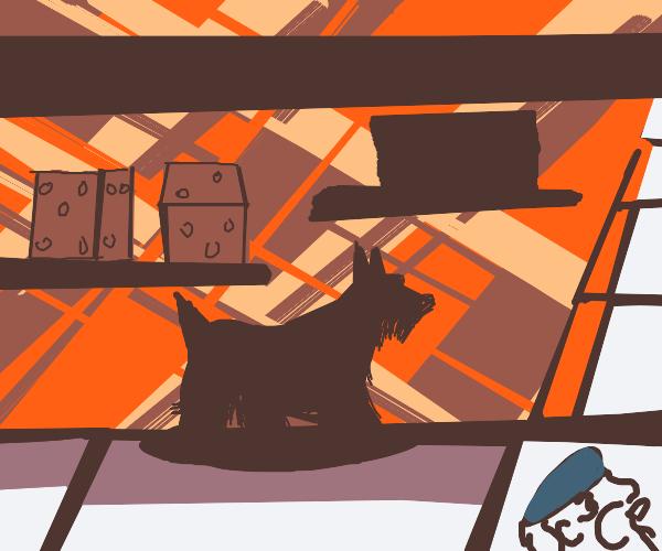 Scottie Dog Monopoly Piece