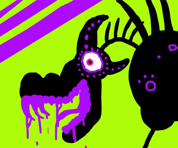 purple drooling dragon