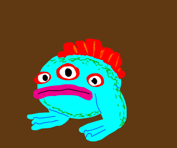 surreal toad