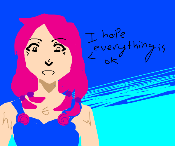 Yasuho hopes everything is ok