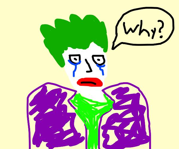 the joker is hurt