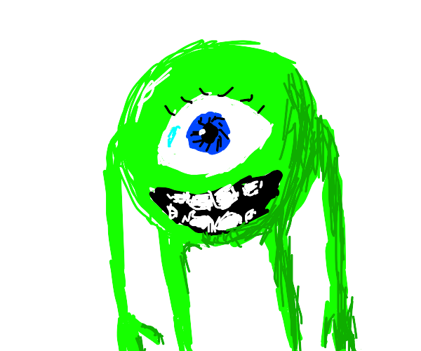 unnervingly well detailed mike wazowski