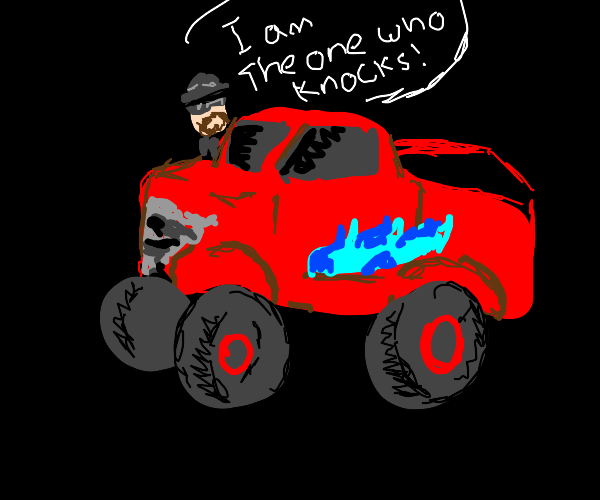 Walter's moster truck