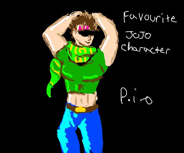 Favourite JoJo character PIO
