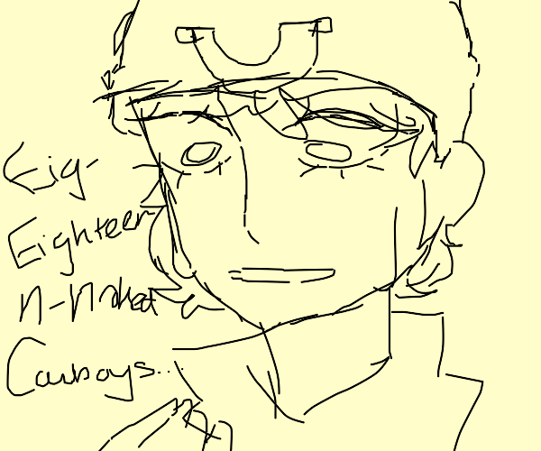 Johnny Joestar thinking about Ram Ranch