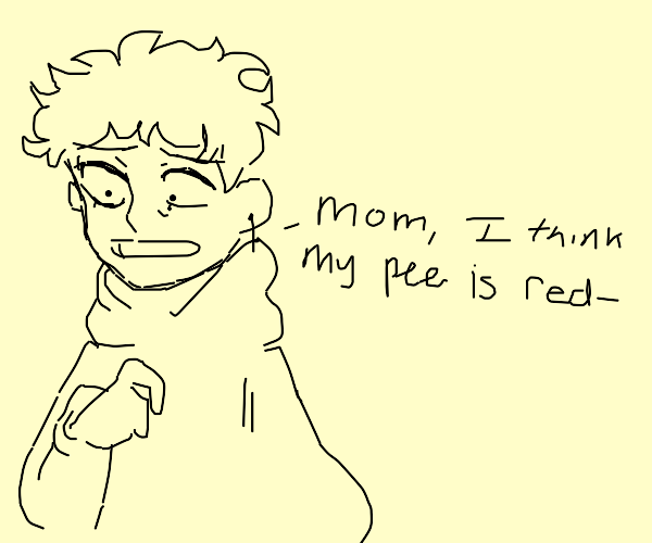 Mom, Why is my pee red?