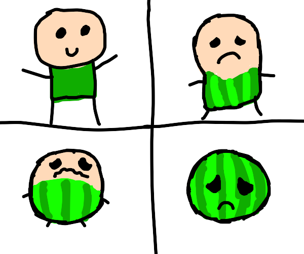 Gradually Watermelon