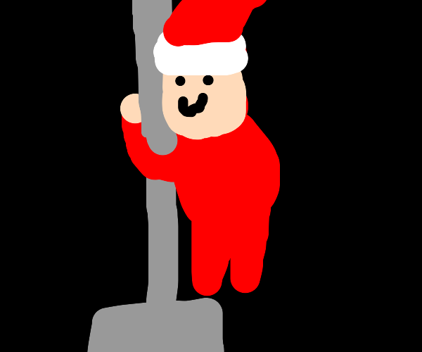 Stripper Santa
