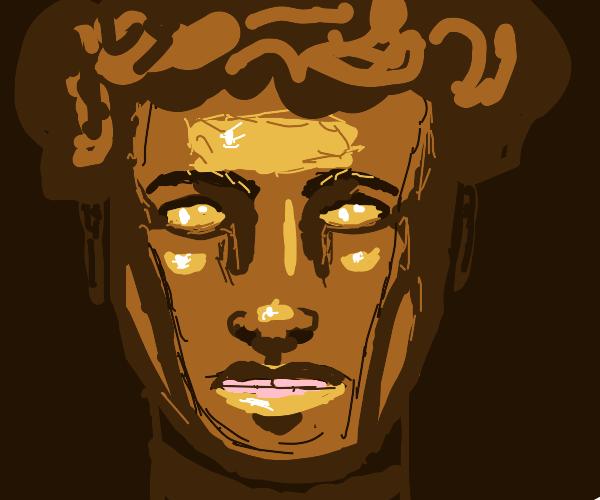 Man made of brass