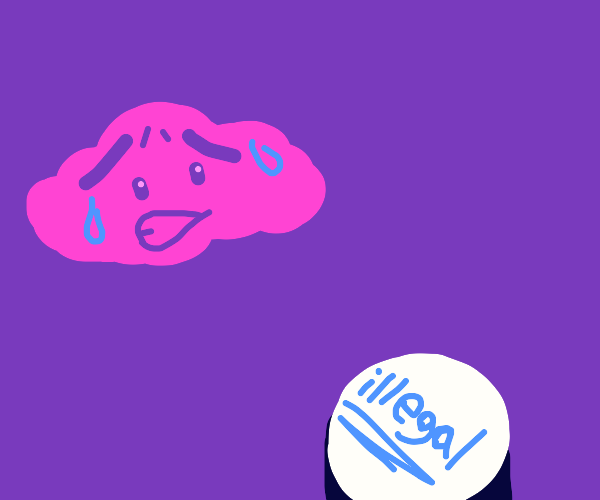 Pink Cloud worried about illegal button press