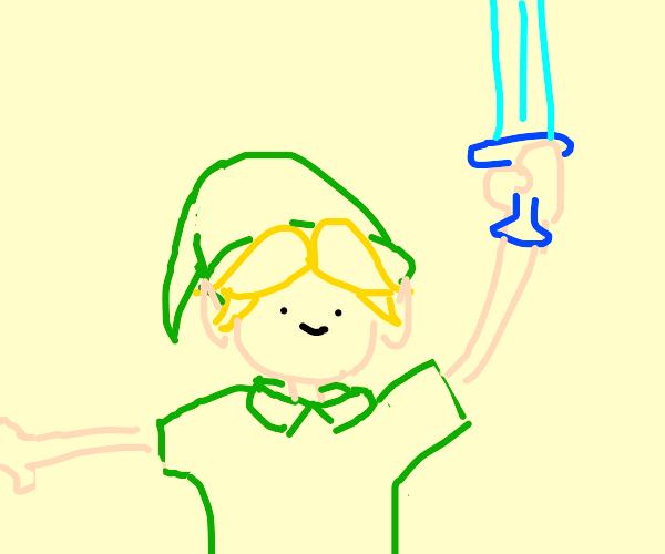 left-handed Link