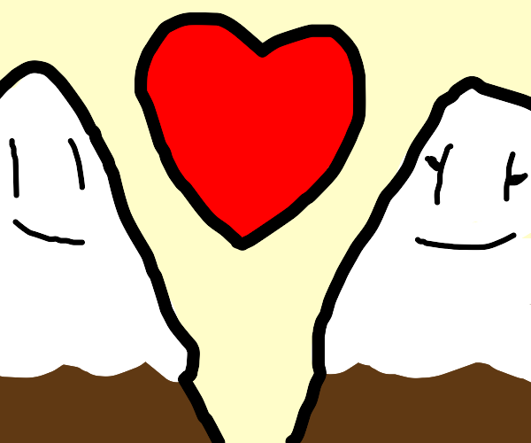 mountains in love