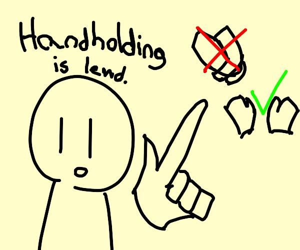 Handholding is Lewd