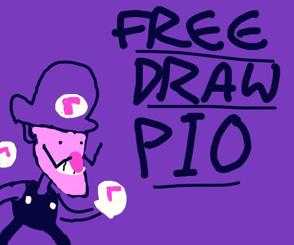 Free draw PIO, pass it on
