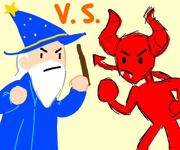 wizard vs demon