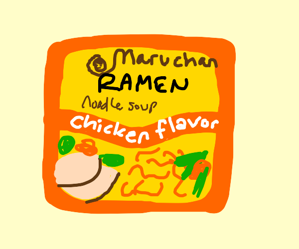 Draw a meal you're craving right now