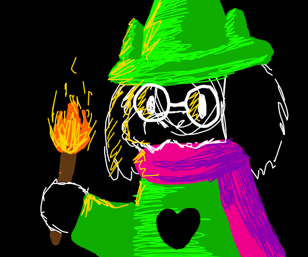 Wizard With A Torch