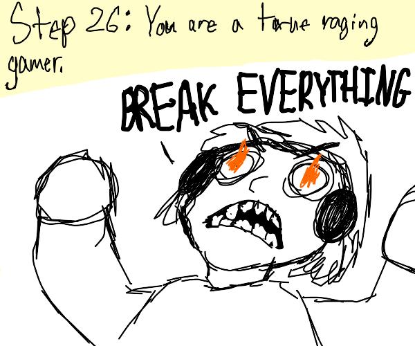 Step 25 break laptop