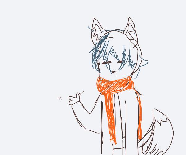Wolf eared man