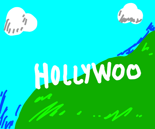 Hollywood without the d