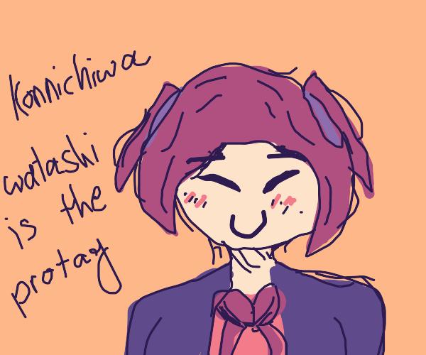 Anime protaganist