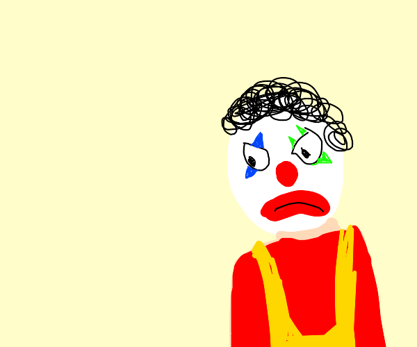 angry clown
