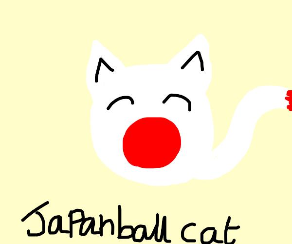 Japanball cat