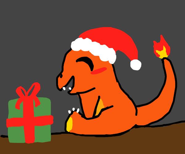 christmas charmander