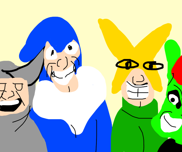 Me and the boys Drawing Me and the boys