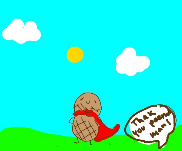 peanut man saves the day