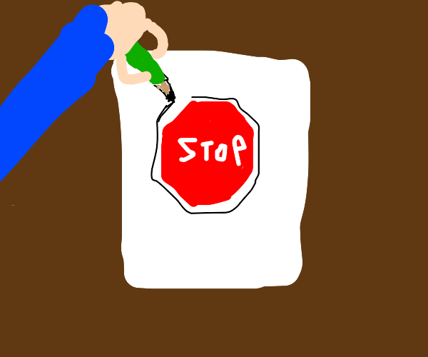 Stop Sign Artwork
