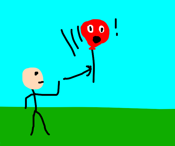 Red balloon can't believe he was let go