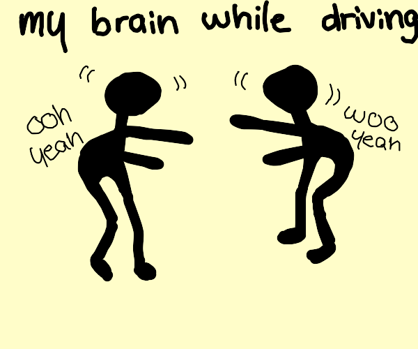 your brain while driving