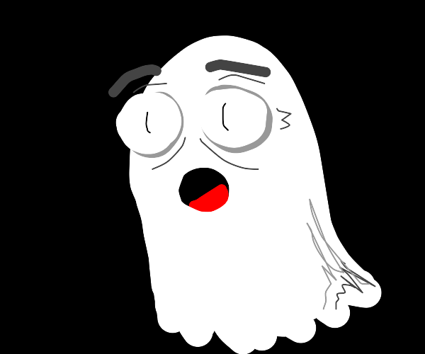 Scared ghost