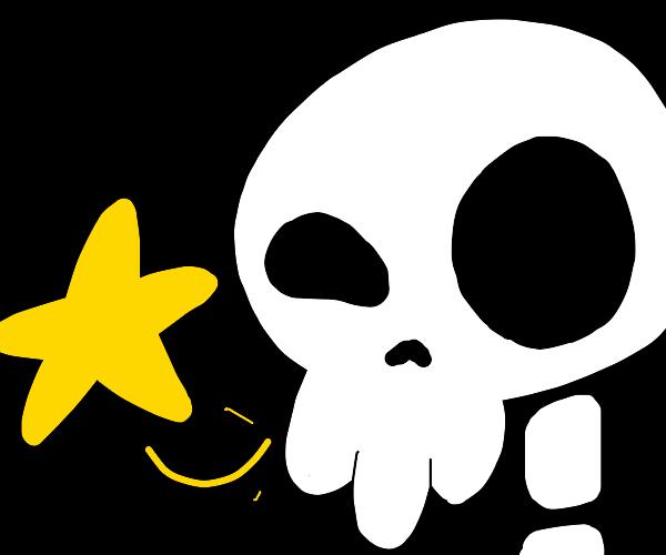 Skull and Star