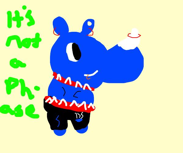 Punk Rhinoceros