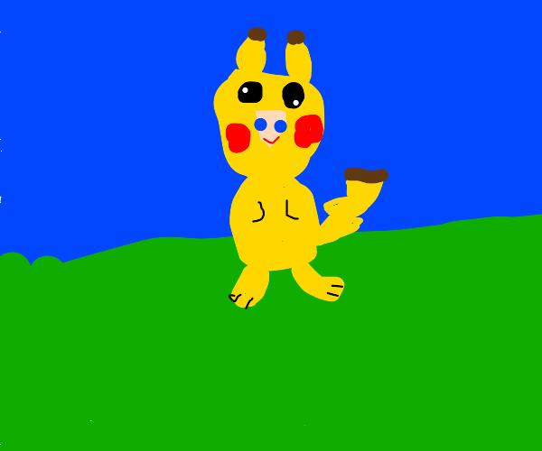 Person in Pikachu Costume