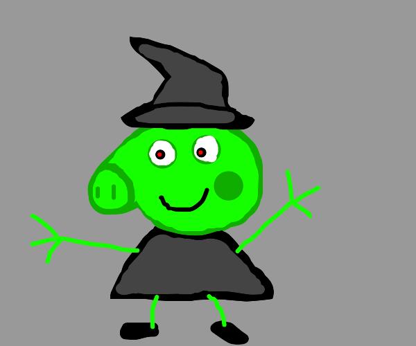 evil witch peppa