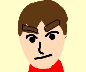 A Mii stares into your soul