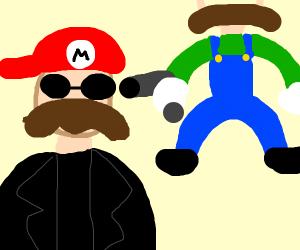 Gangsta Mario and luigi